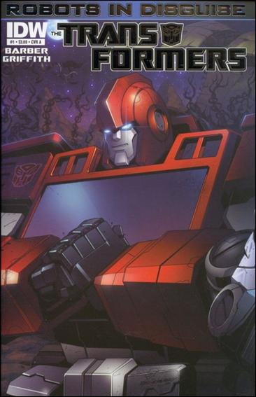 Transformers: Robots in Disguise 1-A by IDW
