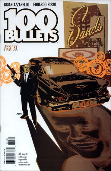 100 Bullets 89-A by Vertigo