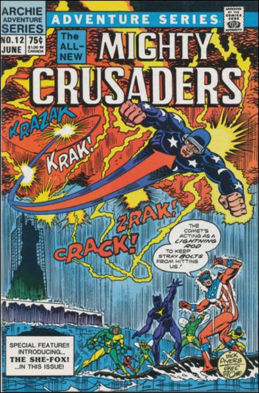Mighty Crusaders (1983) 12-A by Red Circle