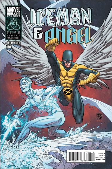 Iceman and Angel 1-A by Marvel