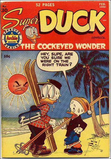 Super Duck Comics 30-A by Archie