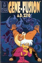 Gene-Fusion A.D. 2310 1-A by Beckett Comics