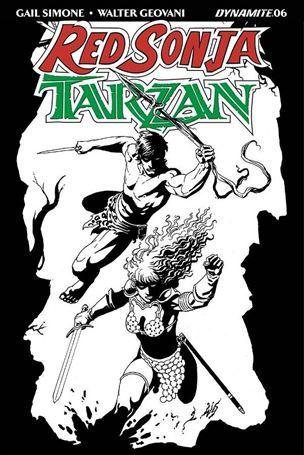 Red Sonja / Tarzan 6-E