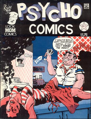 Psycho Comics 1-A by Look Mom Comics