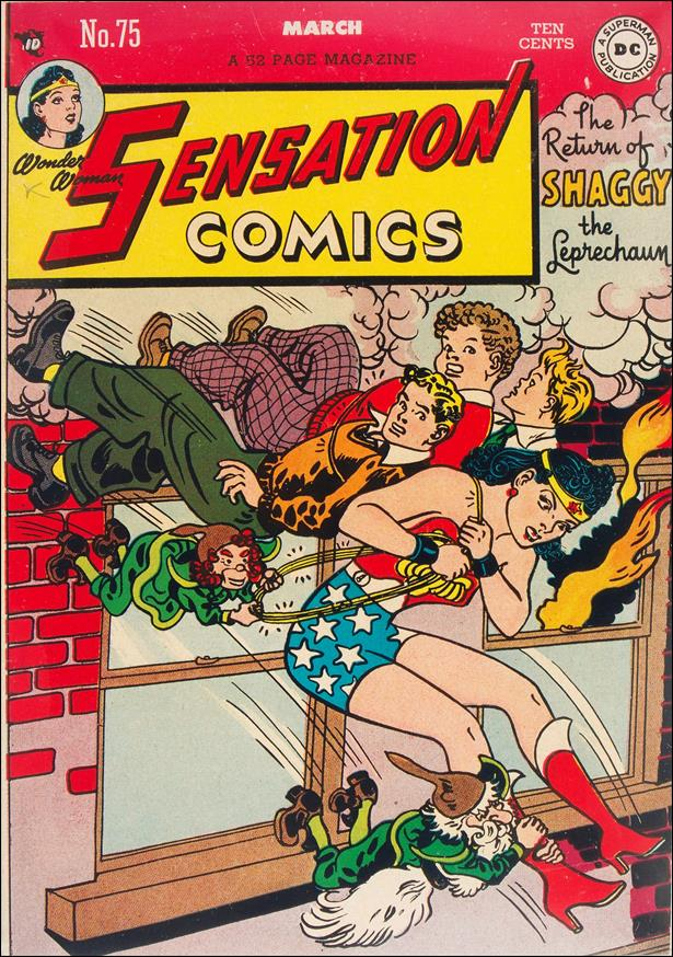 Sensation Comics (1942) 75-A by DC