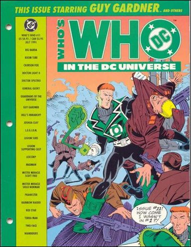 Who's Who In the DC Universe 11-A by DC