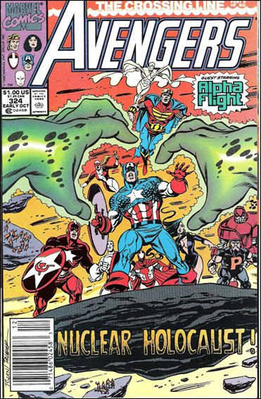 Avengers (1963) 324-A by Marvel
