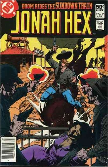 Jonah Hex (1977) 47-A by DC