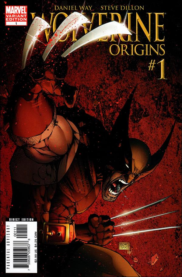 Wolverine: Origins 1-B by Marvel