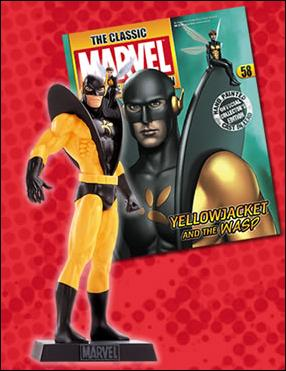Classic Marvel Figurine Collection (UK) Yellowjacket and Wasp by Eaglemoss Publications