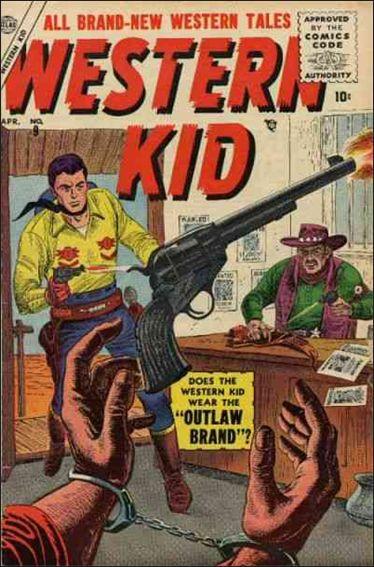 Western Kid (1954) 9-A by Atlas