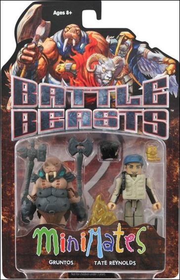 Battle Beasts Minimates Gruntos and Tate Reynolds by Diamond Select
