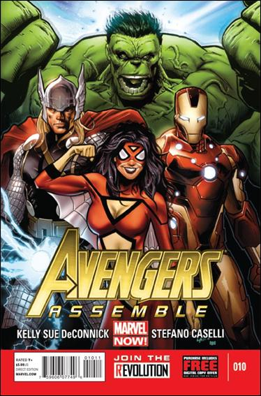 Avengers Assemble (2012) 10-A by Marvel