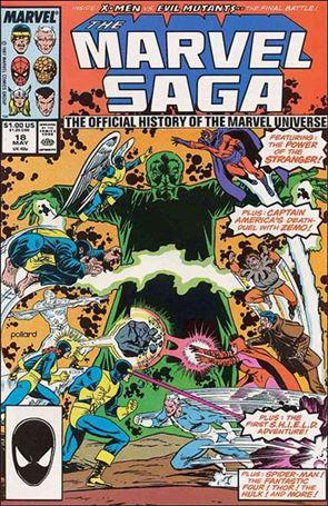 Marvel Saga 18-A