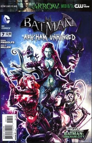 Batman: Arkham Unhinged 7-A by DC