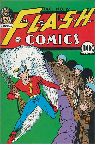 Flash Comics (1939) 12-A by DC