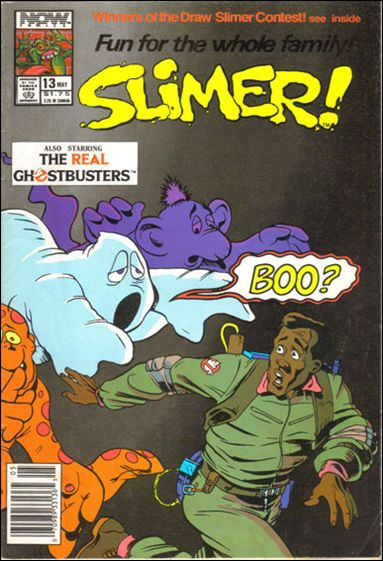Slimer! 13-A by Now Comics