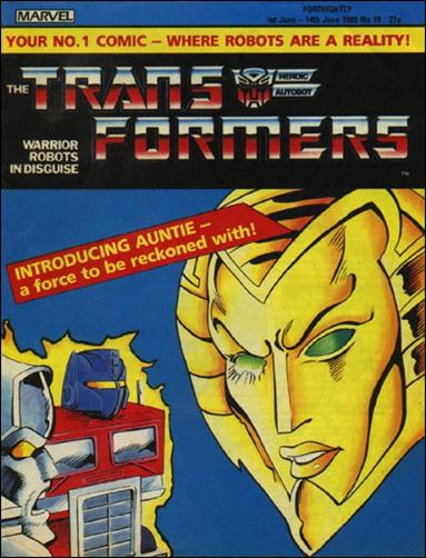 Transformers (UK) 19-A by Marvel UK