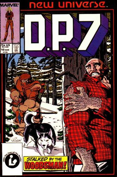 D.P.7 10-A by Marvel
