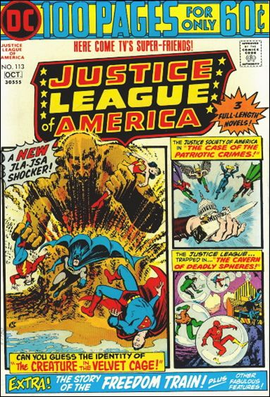 Justice League of America (1960) 113-A by DC
