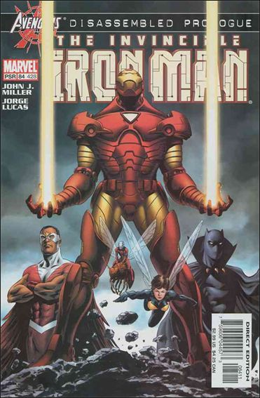 Iron Man (1998) 84-A by Marvel