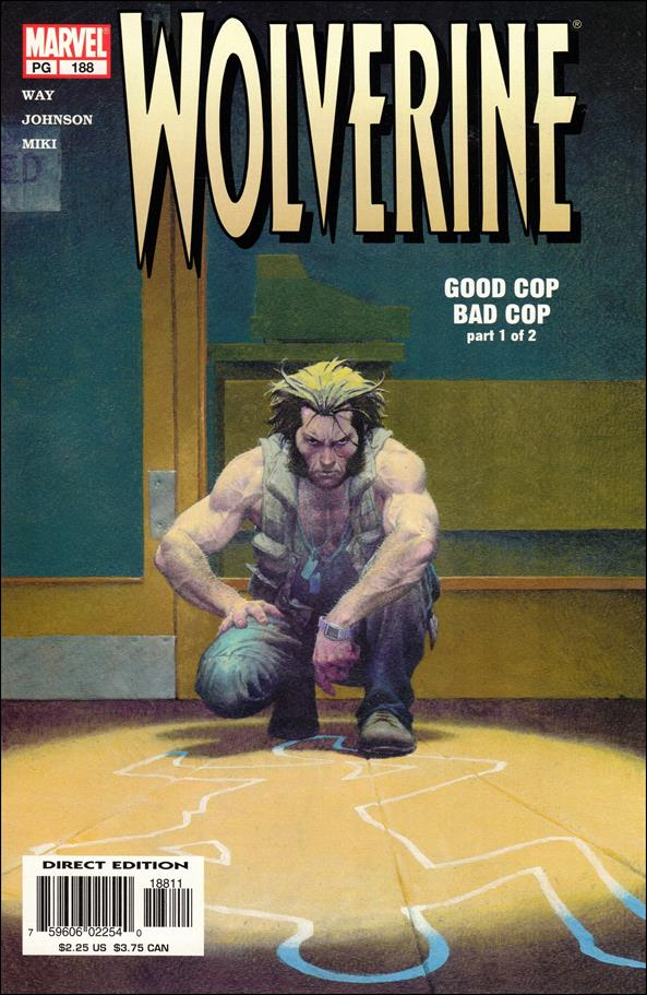 Wolverine (1988)  188-A by Marvel