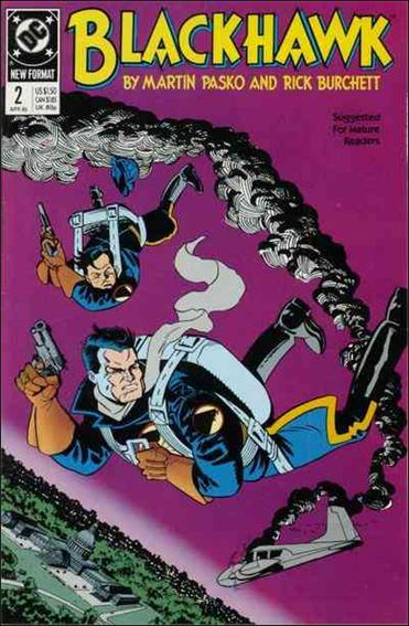 Blackhawk (1989)  2-A by DC
