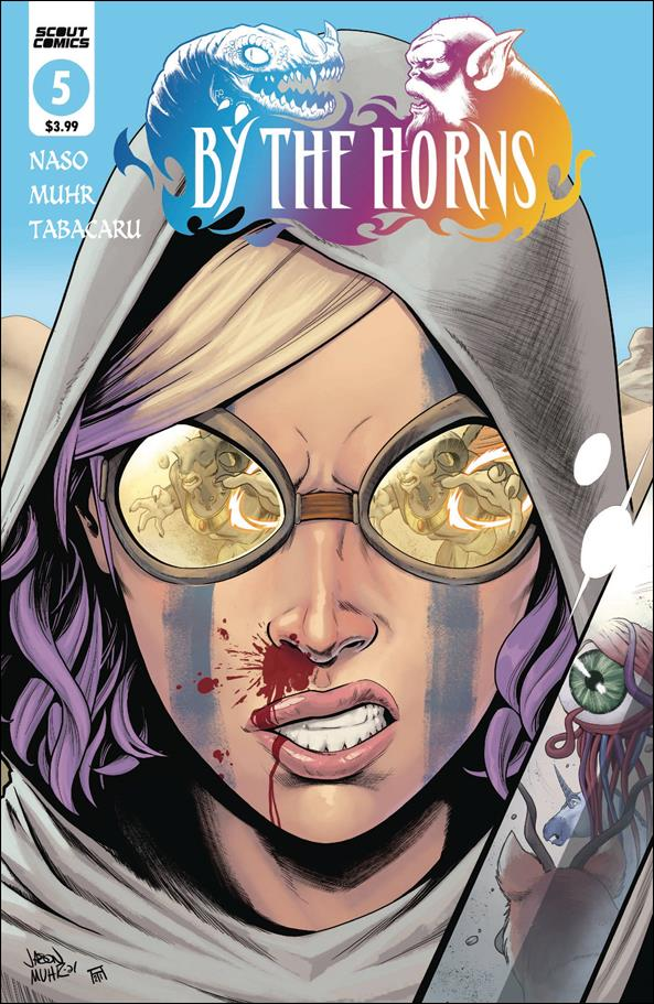 By the Horns 5-A by Scout Comics