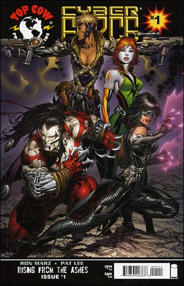 Cyberforce (2006) 1-B by Top Cow