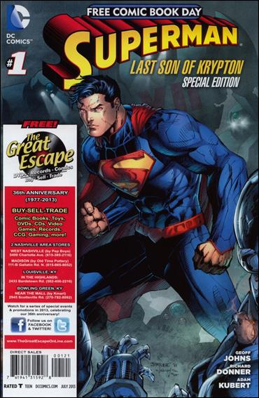 Superman: The Last Son of Krypton FCBD Special Edition 1-I by DC