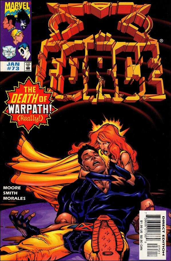 X-Force (1991) 73-A by Marvel