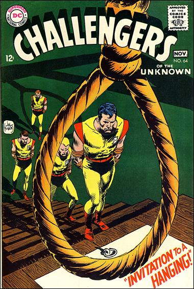 Challengers of the Unknown (1958) 64-A by DC