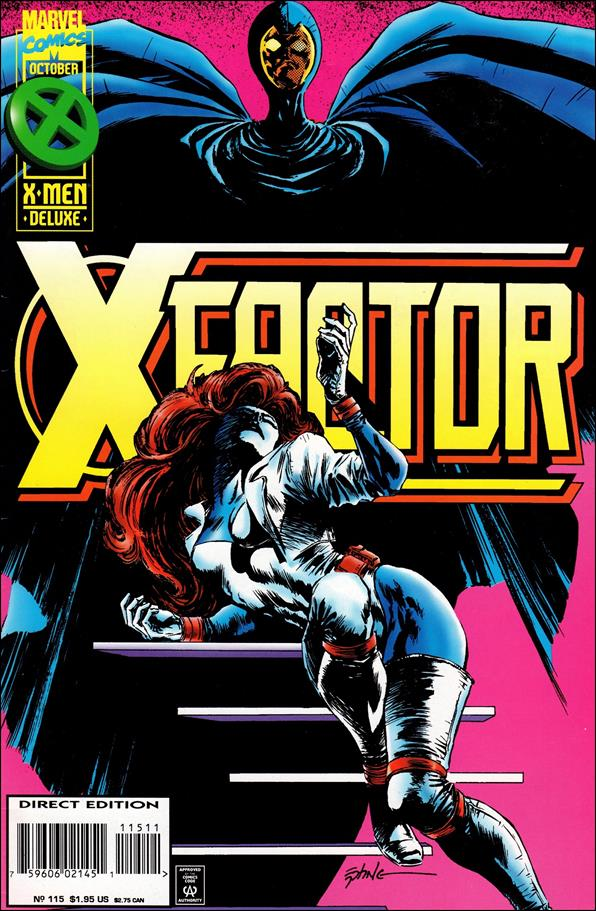 X-Factor (1986) 115-A by Marvel