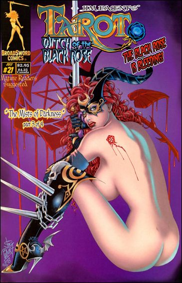 Tarot: Witch of the Black Rose 21-B by BroadSword Comics