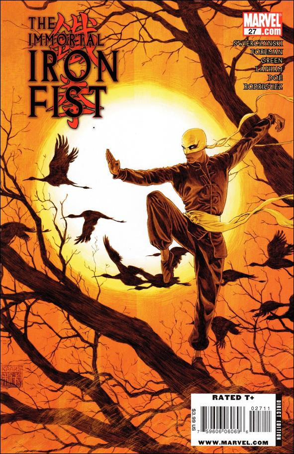 Immortal Iron Fist 27-A by Marvel