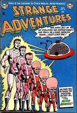 Strange Adventures (1950) 40-A by DC