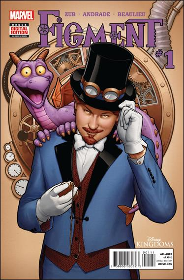 Disney Kingdoms: Figment 1-A by Marvel