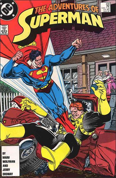 Adventures of Superman (1987) 430-A by DC
