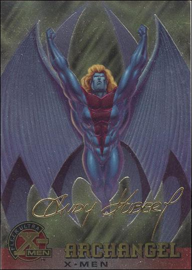 1995 Fleer Ultra X-Men All Chromium (Gold Signature Parallel Base Set) 1-A by Fleer