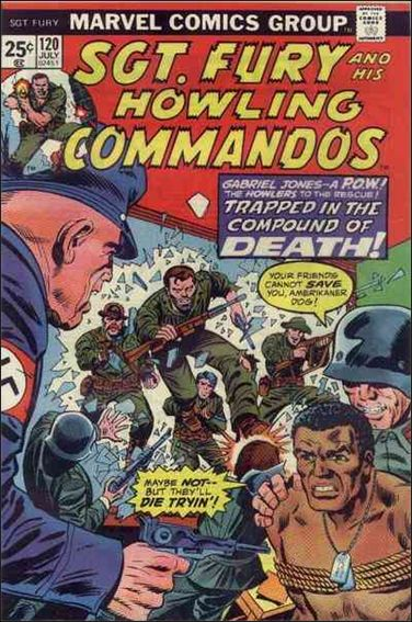 Sgt. Fury and His Howling Commandos 120-A by Marvel