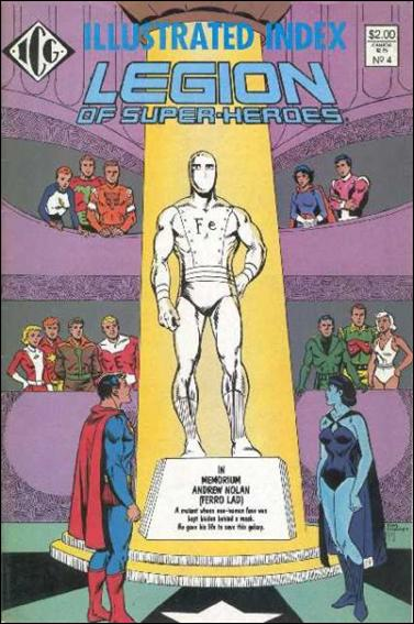 Official Legion of Super-Heroes Index 4-A by ICG