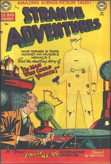 Strange Adventures (1950) 5-A by DC