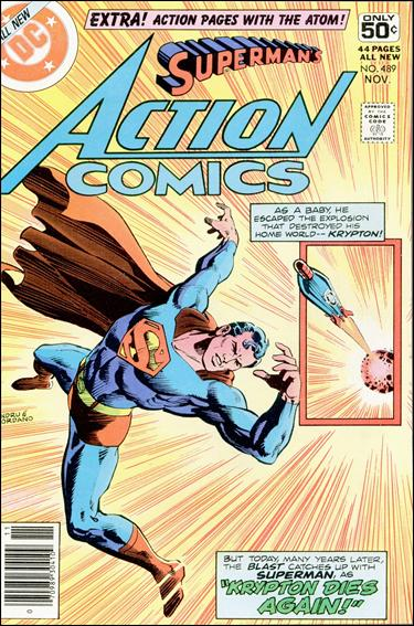 Action Comics (1938) 489-A by DC