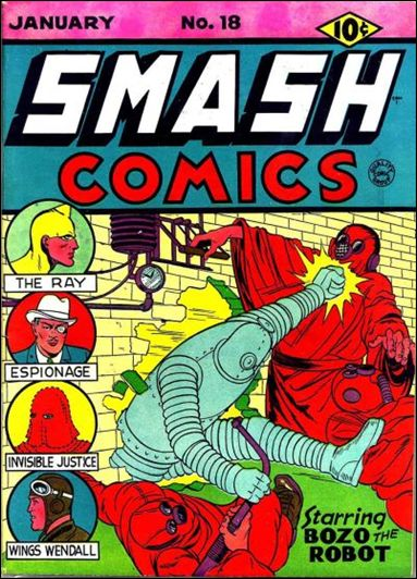 Smash Comics (1939) 18-A by Quality