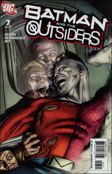 Batman and the Outsiders (2007) 7-A by DC