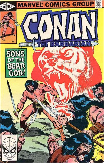 Conan the Barbarian (1970) 109-A by Marvel