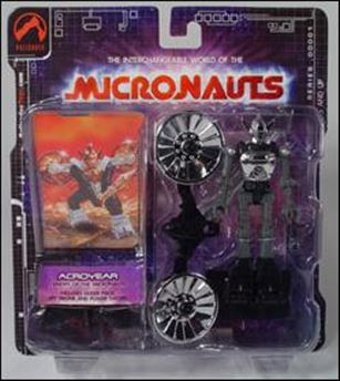 Micronauts (Series 1) Acroyear (Silver)
