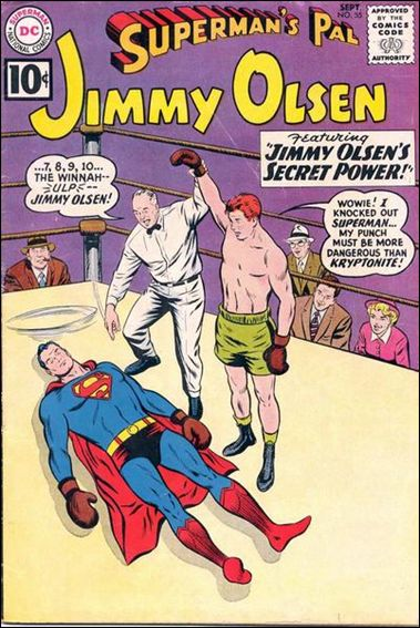 Superman's Pal Jimmy Olsen 55-A by DC