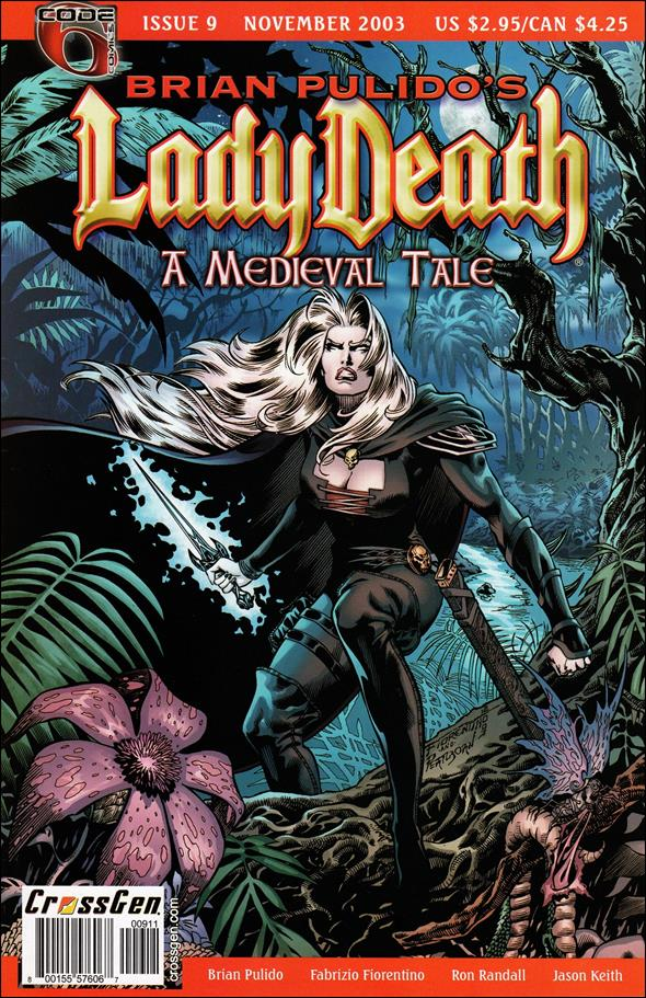 Brian Pulido's Lady Death: A Medieval Tale 9-A by CrossGen