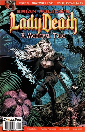 Brian Pulido's Lady Death: A Medieval Tale 9-A